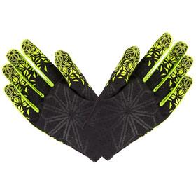Supacaz SupaG fietshandschoenen lange vingers geel/zwart